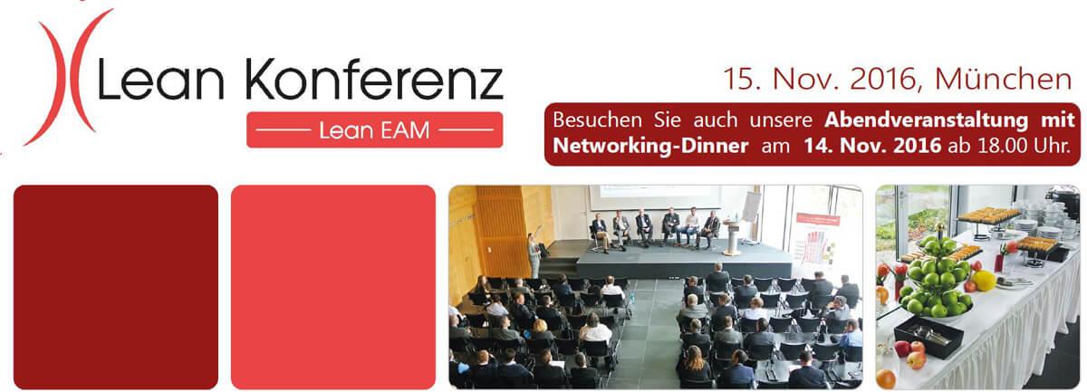 Lean EAM Konferenz 14. & 15. November 2016