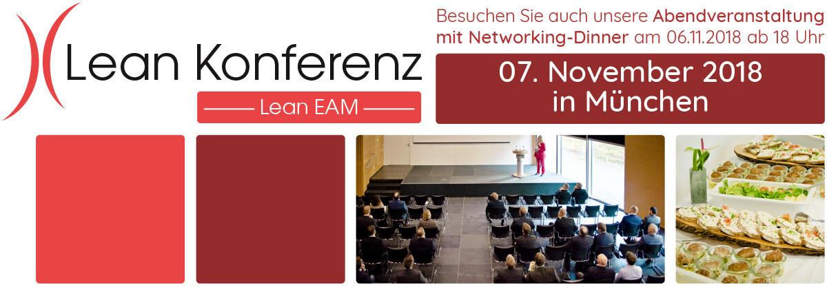 Lean EAM Konferenz 06. & 07.11.2018