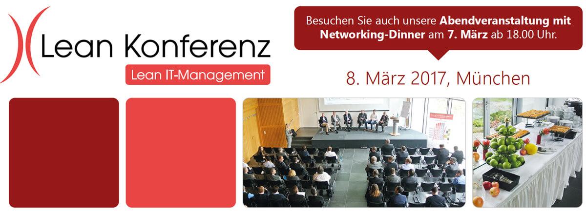 Lean IT-Management Konferenz 07. & 08.03.2017